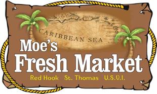 A theme logo of Moe's Marketplace